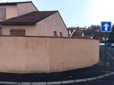 Couvertines mur arrondi acier prélaqué RAL8003S .JPG