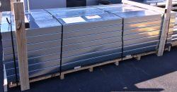 Colisage pliages acier galvanisé ép.0.8 mm