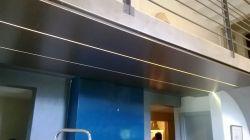 Sous face mezzanine aluminium prélaqué RAL7016S ép.1.5 mm
